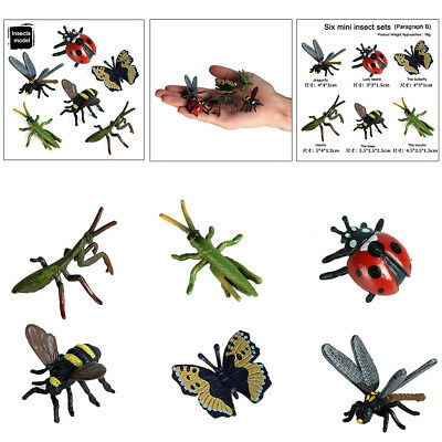 £3.58 • Buy 6x Realistic Insects Science Educational Toys Kid Educational Bug Model