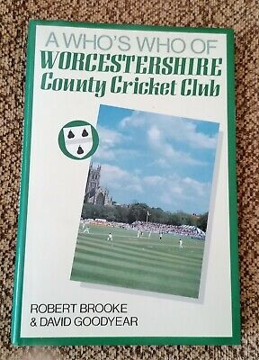 £5.99 • Buy Worcestershire County Cricket Club - A Who's Who