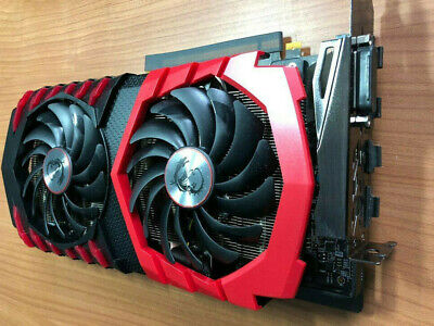 AU567.92 • Buy MSI GeForce GTX 1060 Gaming 6gb - Excellent Condition