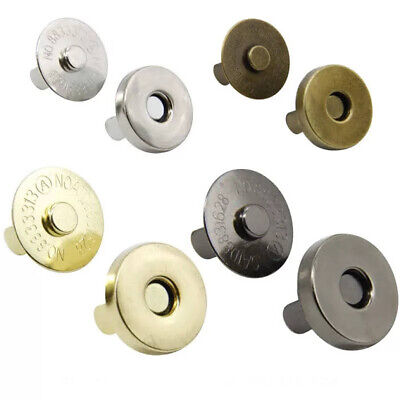 £1.95 • Buy Magnetic Snaps, Snap Fasteners, 18mm, Bag Making Hardware, Purse Fasteners,