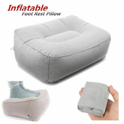 AU12.99 • Buy Inflatable Foot Rest Pillow Cushion Air Comfortable Travel Office Home Leg Relax