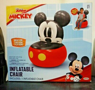£12.92 • Buy Disney Mickey Mouse Inflatable Chair For Kids