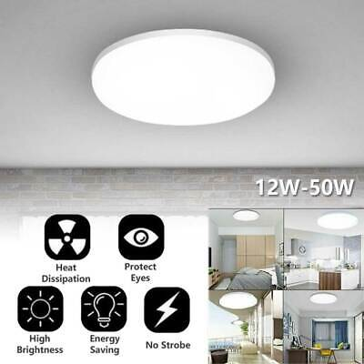 £2.99 • Buy Bright Round LED Ceiling Light Panel Downlights Living Room Bathroom Wall Lamp