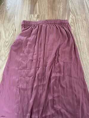 £35.99 • Buy Bnwt Free People Pink Skirt Lace Xs Lovely Net A Porter
