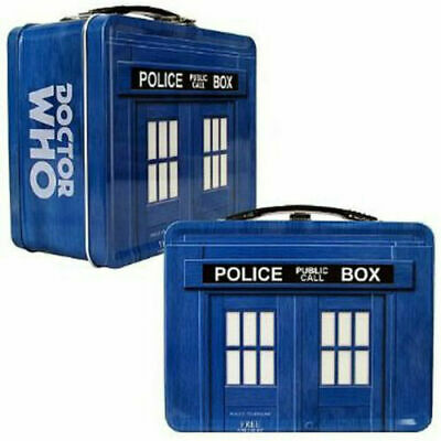 £12.90 • Buy Doctor Who Tardis Metal Lunchbox Licensed By BBC