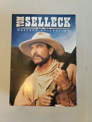 £5.66 • Buy Tom Selleck Western Collection DVD