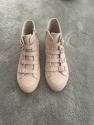 £50 • Buy Womens Ash Virgin Leather Nappa High Top Trainers Size 38