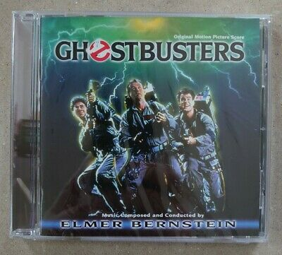 £65 • Buy Ghostbusters CD Soundtrack New Sealed Excellent Condition Elmer Bernstein Ltd Ed