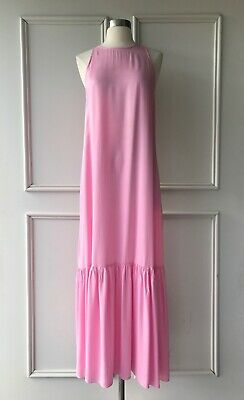 AU55 • Buy | COUNTRY ROAD | Cupro Maxi Dress Candy Pink | NEW | $199 | SIZE: 8,10,16