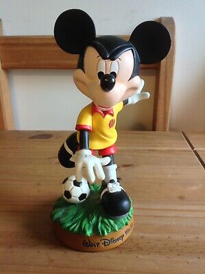 £50 • Buy Walt Disney World Mickey Mouse Soccer Bobble Head With Ball **collectors Item**