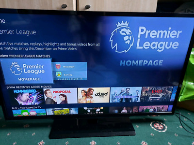 £120 • Buy 42  Panasonic Full Hd Freeview Built In Lcd Tv With Stand & Remote Control