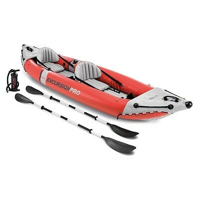 AU675 • Buy Intex Excursion Pro 2 Person Professional Series Inflatable Fishing Water Kayak