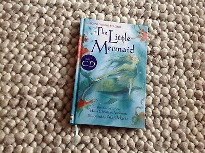 £2.99 • Buy The Little Mermaid  Usborne Young Reading With CD Like New - Early First Readers
