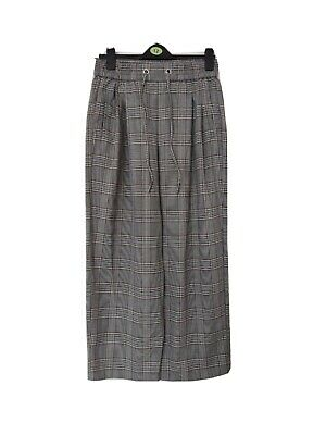 £1.20 • Buy Topshop Checked Wide Leg Trouser Size 12