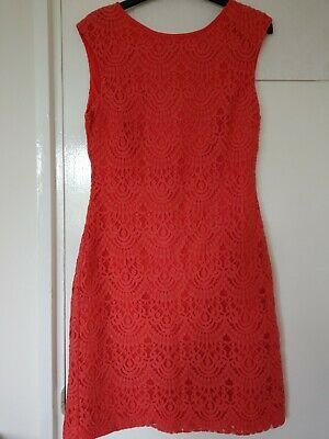 £4.50 • Buy Ladies Red Dress Size 12 Jessica Howard Fully Lined