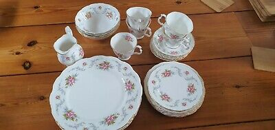 £99 • Buy Royal Albert Tranquility 25 Pieces Perfect