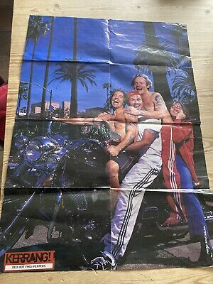 £5 • Buy Vintage Red Hot Chilli Peppers / The Strokes Poster Kerrang