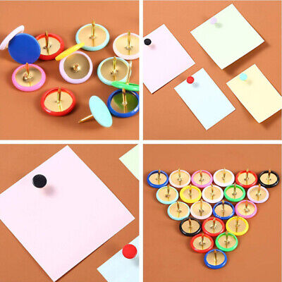 £3.76 • Buy Coloured Drawing Pins 10mm Single Colours & Assorted Thumb Tacks X100*PX