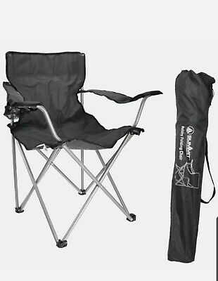 £9.99 • Buy Ashby Folding Chair Grey  - Summit Camping And Outdoor Gear