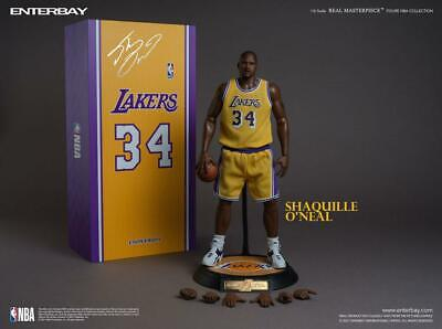 $529.80 • Buy Enterbay NBA Collection Real Masterpiece Actionfigur 1/6 Shaquille O'Neal 37 Cm