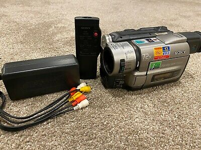 $ CDN249.01 • Buy Sony CCD-TRV93 Handycam Camcorder Hi8 8mm Video8 HEADS CLEANED! TESTED!