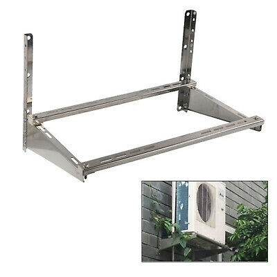 £42 • Buy Universal Air Conditioner Support Bracket Wall Mount Rack Stainless Steel UK