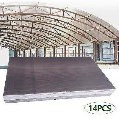 £75 • Buy 14 PCS Brown 4mm Twinwall Polycarbonate Sheet For Commercial Greenhouse Use