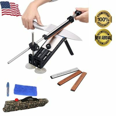 $25.99 • Buy Fix-angle Knife Sharpener Professional Sharpening System Kits W/4 Stones Home US
