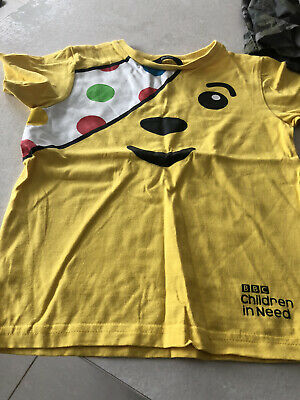 £2 • Buy BBC Children In Need Short Sleeve T Shirt Age 5 Years In Great Condition