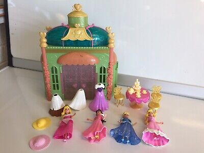 £15.50 • Buy Disney Polly Pocket Dolls Figures With Rubber Clothing And A House