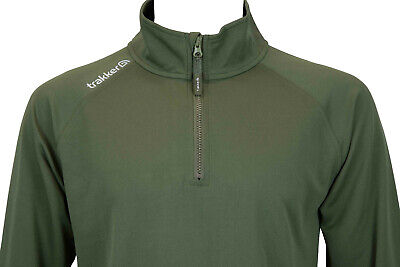 £32.98 • Buy Trakker Half Zip Top With UV Sun Protection All Sizes* New Fishing Free Delivery