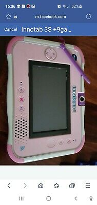 £80 • Buy Vtech Innotab 3s,9 Games,headphone.Pink Used With Case All The Time .