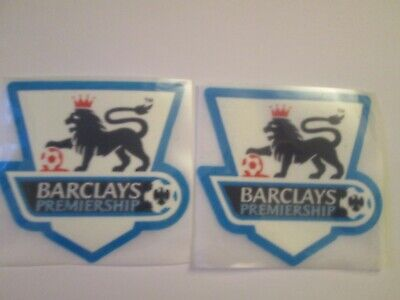 £5.79 • Buy Pair Of 2004-2007 Premier League Patch Player Size  Iron On Heat Press
