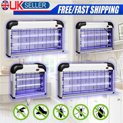 £19.95 • Buy 40/30/20W Electric UV Insect Killer Mosquito Fly Pest Bug Zapper Trap LED Light