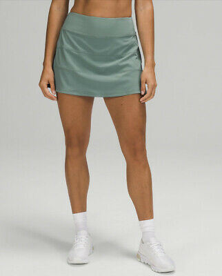 $ CDN115 • Buy Lululemon NWT Pace Rival Skirt Tidewater Teal Tall Size 2~4~6~8~10~12