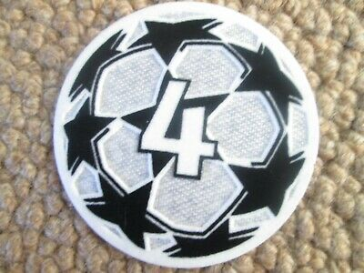 £5.99 • Buy 2021-2022 4 X Champions League Patch Player Size  Iron On Heat Press