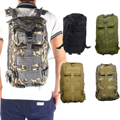 $27.96 • Buy Outdoor Military Camping Backpack Tactical Molle Travel Bag Camping Hiking Bag