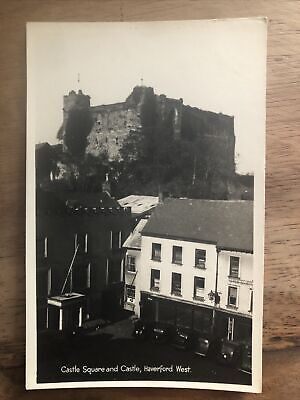 £3.20 • Buy Rare Photographic Of Castle Square And Castle, Haverford West, Postcard