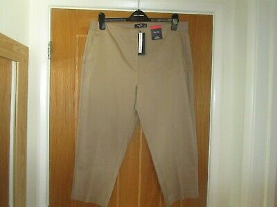 £8 • Buy Bnwt M&s Size 18,the Mia Crop Trousers In Coffee Colour
