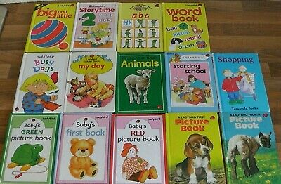 £8.99 • Buy Ladybird Books,Job Lot,Early Learning,Baby's First Book,Starting School,ABC