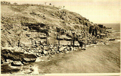 £1.45 • Buy 1920s Postcard Lizard Lighthouse And Rugged Cliffs Cornwall
