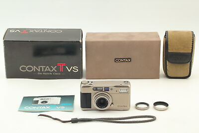 $ CDN485.56 • Buy [ N MINT Boxed ] Contax TVS Point & Shoot 35mm Camera  W/ Strap Hood From JAPAN