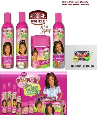£3.99 • Buy Dream Kids African Pride Hair Products Kids Hair Growth Care !! Fast Delivery !!