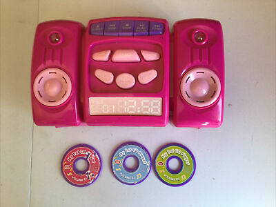 £2.50 • Buy Chad Valley Pink CD Player With 3 Discs