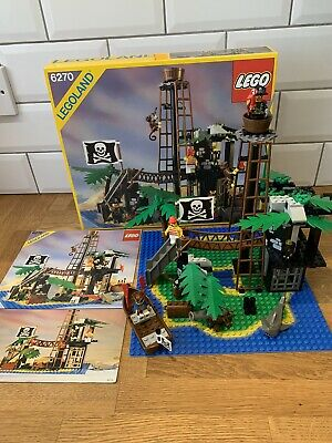 £62 • Buy LEGO Pirates Forbidden Island 6270 Vintage Boxed Complete With Instructions