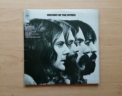 £5.50 • Buy The Byrds Vinyl LP The History Of The Byrds 1973 CBS Records Gram Parsons