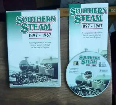 £2.99 • Buy Southern Steam 1897-1967 Railway Archive DVD