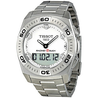 £283.26 • Buy Tissot Racing-touch Chronograph Date St.steel Men's Watch T002.520.11.031.00 New
