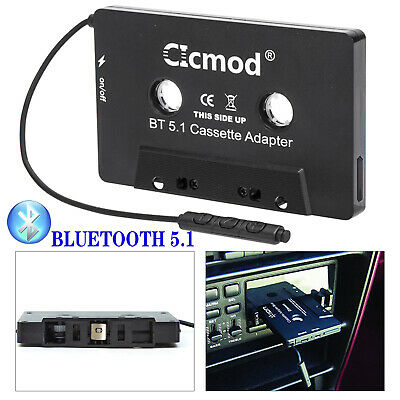 £11.29 • Buy Bluetooth 5.1 CAR AUDIO TAPE CASSETTE ADAPTER FOR IPHONE IPOD MP3 CD RADIO UK