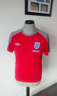 £19 • Buy England Training Top Football Sports Red Size Small Casual